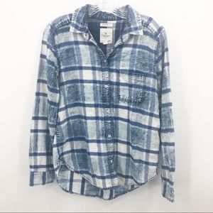 American Eagle Outfitters | Boyfriend Fit Flannel